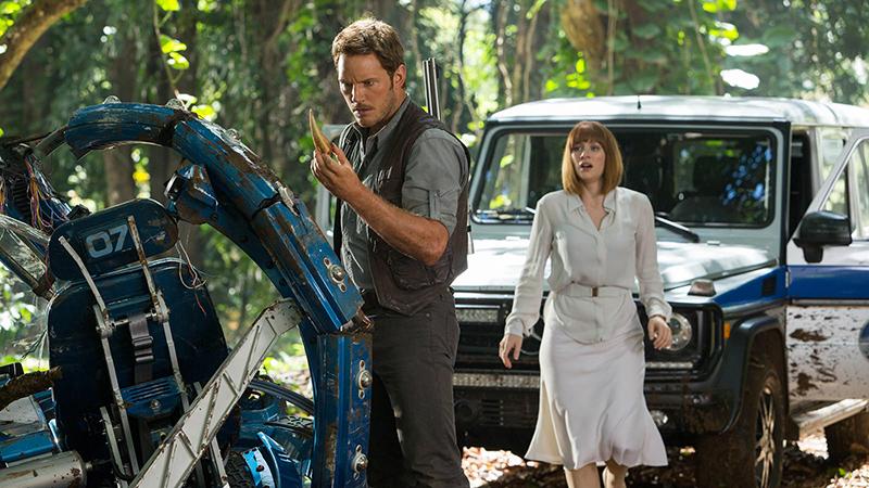Jurassic World: el T-rex lidera la taquilla (y nuestros corazones)