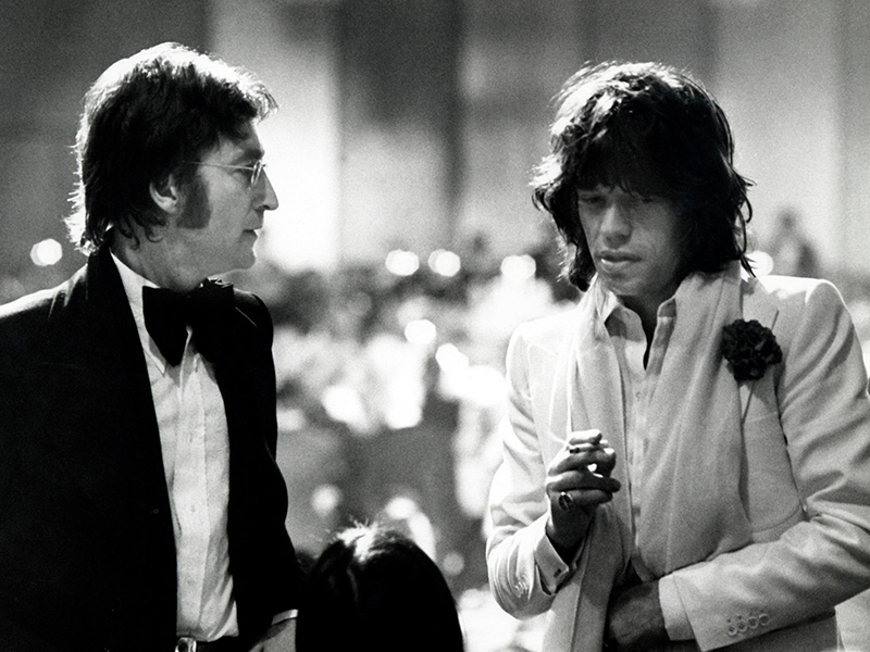 Rolling Stones Let It Bleed John Lennon, Mick Jagger