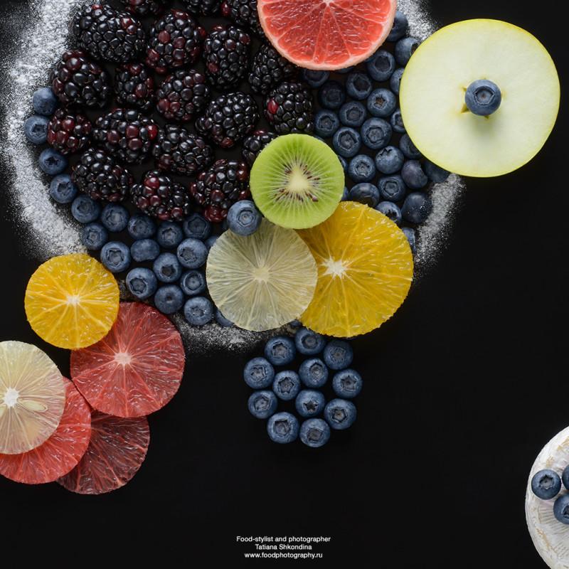 Fotografía Tatiana Shkondina, arte con comida 4