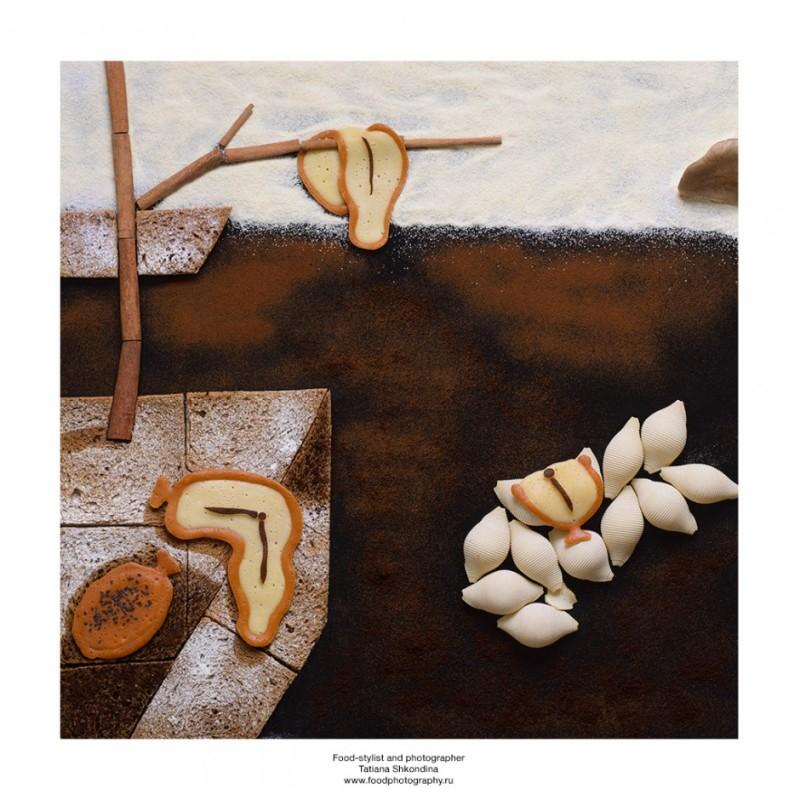 Fotografía Tatiana Shkondina, arte con comida 9
